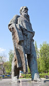 Monument for Lev Tolstoy in Tula, Russia — Stock Photo