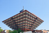 Slovak Radio building in Bratislava — Stock Photo