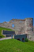 Bathory palace (XVI c.) of Devin castle. Bratislava, Slovakia — Stock Photo