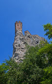 Maiden Tower of Devin castle. Bratislava, Slovakia — Stock Photo