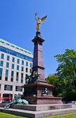 Bust for mayor Johann Andreas von Liebenberg in Vienna, Austria — Stock Photo
