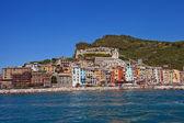 Doria castle and Portovenere town, Italy — Stock Photo
