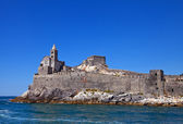 Church of Saint Peter (1198). Portovenere, Italy — Stock Photo