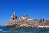 Church of Saint Peter (1198). Portovenere, Italy — Stock Photo