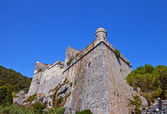 Doria castle (1161) in Portovenere (UNESCO cite), Italy — Stock Photo