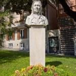 Bust of Maria Drago, mother of Giuseppe Mazzini. Genoa — Stock Photo #31037205