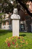 Bust of Maria Drago, mother of Giuseppe Mazzini. Genoa — Stock Photo