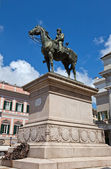Monument to Giuseppe Garibaldi in Genoa (1893) — Stock Photo