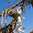 Figurehead of Galleon Neptune. Genoa, Italy — Foto Stock