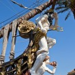 Figurehead of Galleon Neptune. Genoa, Italy — Stock Photo