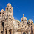 Stock Photo: Side view of Marseilles Cathedral (XIX c.)