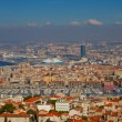 View of Old Port district in Marseilles city — Stock Photo #34242633