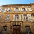 Hotel de Barlet (circa XVIII c.). Aix-en-Provence, France — Stock Photo