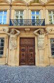 Portal för hotel de maurel de ponteves (1650). aix-en-provence — Stockfoto