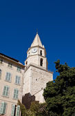 Bell tower of Church Notre-Dame-des-Accoules in Marseilles — Stock Photo