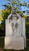 Monumento (1934) a ernest reyer. Parque longchamp, Marsella — Foto de Stock