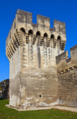 Tower of town fortifications (XIV c.) in Avignon, France — Stock Photo