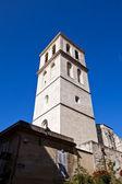 Bell tower of Saint-Agricol Church (1321). Avignon, France — Stock Photo