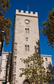 Saint-Jean Tower (XIV c.) in Avignon, France (monument historiqu — Stock Photo