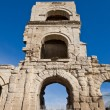 Rotland tower of Roman theater (I c. BC). Arles, France — Stock Photo