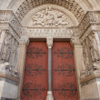 Stock Photo: Portal (1190) of Saint Trophime Cathedral in Arles, France