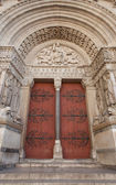 Portal (1190) of Saint Trophime Cathedral in Arles, France — Stock Photo