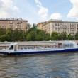Cruise ship Stolichniy-2 on the Moskva river — Stock Photo