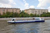 Cruise ship Stolichniy-2 on the Moskva river — Stock Photo
