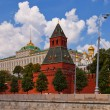 Taynitskaya Tower (1485) of Moscow Kremlin (UNESCO site) — Stock Photo