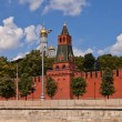 Second Unnamed Tower (1480) of Moscow Kremlin (UNESCO site) — Stock Photo