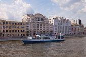 Kreuzfahrt schiff fürst menschikow auf der moskwa — Stockfoto