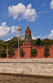 Second Unnamed Tower (1480) of Moscow Kremlin (UNESCO site) — Stockfoto