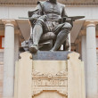 Stock Photo: Monument to Diego Velazquez (1899). Madrid, Spain
