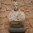 Stock Photo: Bust of Spanish king Ferdinand VI Learned in Alcazar castle,