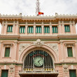 Stock Photo: Saigon Central Post Office (1891). Ho Chi Minh city, Vietnam