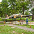 F-5E fighter aircraft. Reunification Palace, Ho Chi Minh city — Stock Photo #38923361