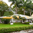 F-5E fighter aircraft. Museum of Ho Chi Minh Campaign — Stock Photo