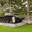T-54 Soviet tank. Museum of Ho Chi Minh Campaign — Stock Photo #38923367