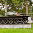 Stock Photo: T-54 Soviet tank. Museum of Ho Chi Minh Campaign