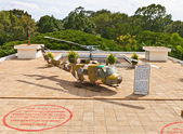 UH-1 Iroquois helicopter. Reunification Palace, Ho Chi Minh city — Stock Photo