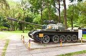 Chinese tank Type 59. Reunification Palace. Ho Chi Minh city — Stock Photo
