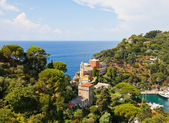 Church of St. George (1154) in Portofino, Italy — Stock Photo