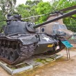 Stock Photo: M48 Patton USA tank. War Remnants Museum, Ho Chi Minh