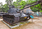 M48 Patton USA tank. War Remnants Museum, Ho Chi Minh — Stock Photo