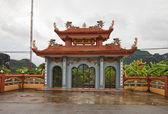 Thach bich temple. village de lam van, vietnam — Photo