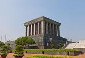 Ho chi minh mauzoleum w hanoi, wietnam — Zdjęcie stockowe