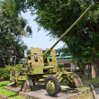 57 mm gun AZP S-60 in Military History Museum, Hanoi — Stock Photo #39693363