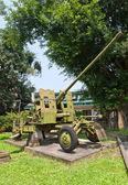 57 mm gun AZP S-60 in Military History Museum, Hanoi — Stock Photo