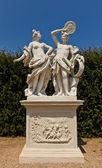 Allegory Fire (XVIII c.). Belvedere garden, Vienna, Austria — Stock Photo