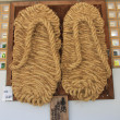 Stock Photo: Giant sandals of Great Buddhin Kotoku-in temple. Kamakura